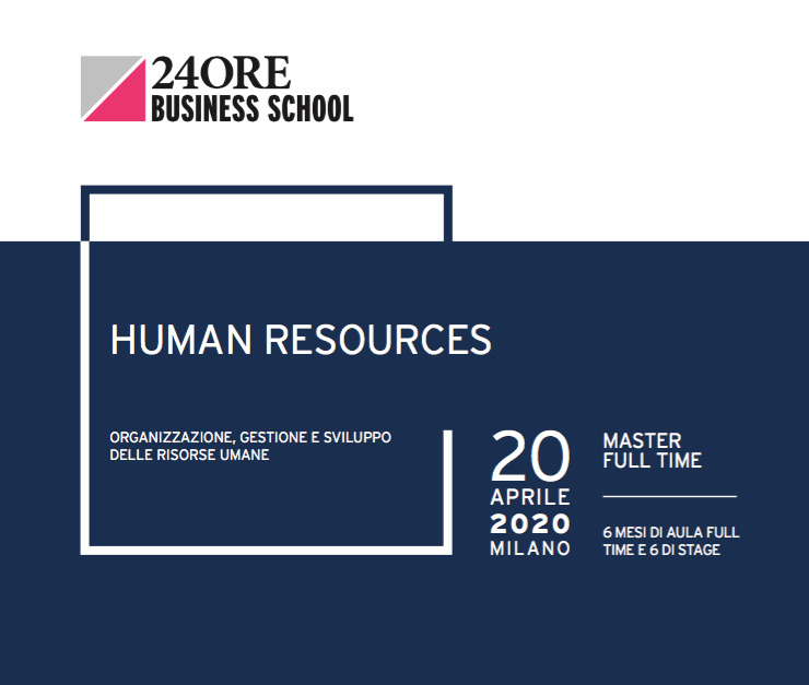 Andrea De Panfilis and Caterina Giacalone held the first lecture at 24ORE Business School' HR Master