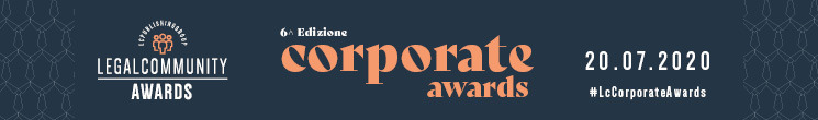 The Firm and Leo De Rosa nominee at Legalcommunity Corporate Awards 2020